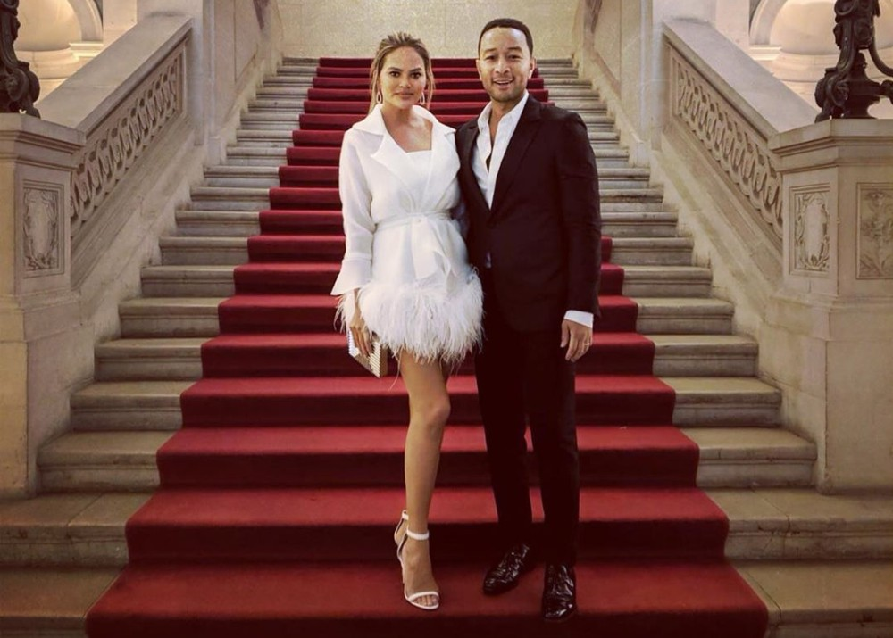 Chrissy Teigen Speaks Out On How Q-Anon Rumors That She And John Legend Are In A Pedophile Ring Are Takin...