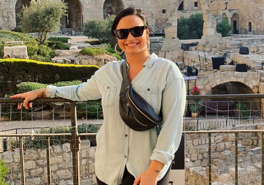Demi Lovato Responds To Backlash Over Her Trip To Israel - 'This Was Meant To Be A Spiritual Experience For Me