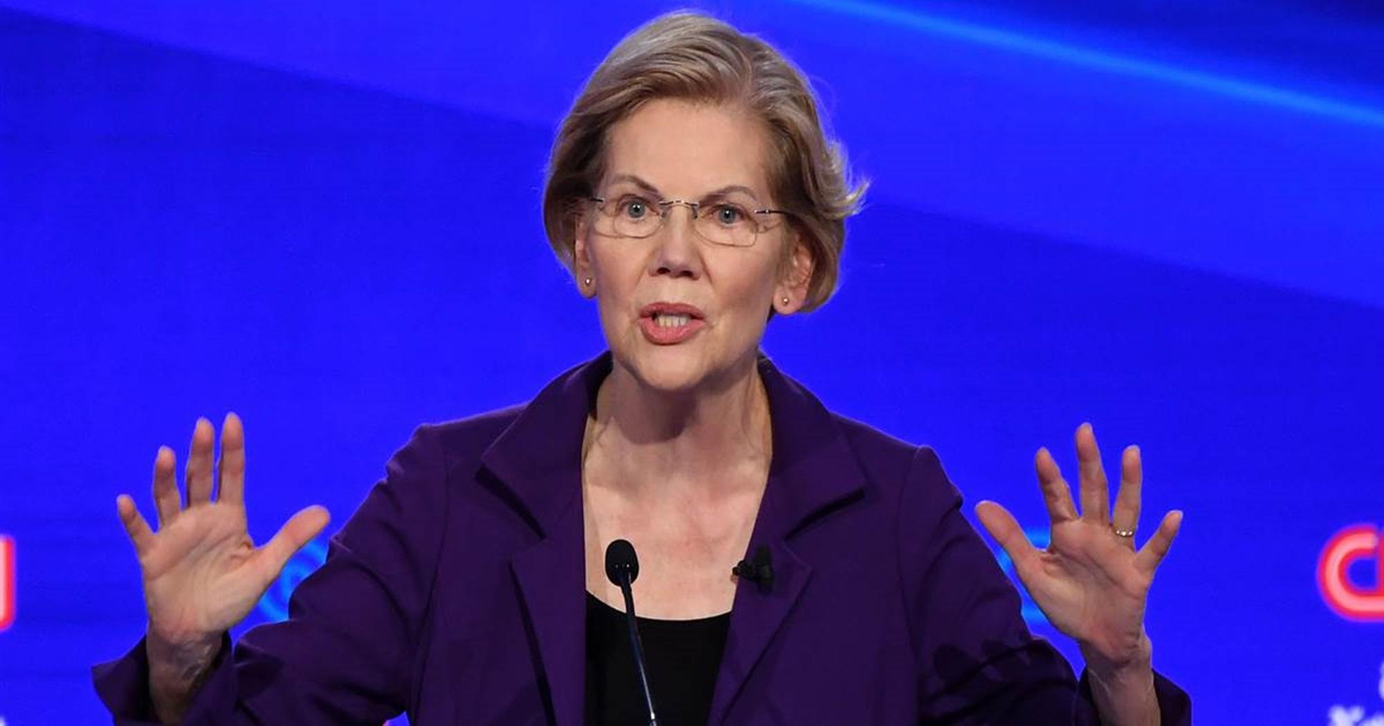 Elizabeth Warren Debate Joe Biden