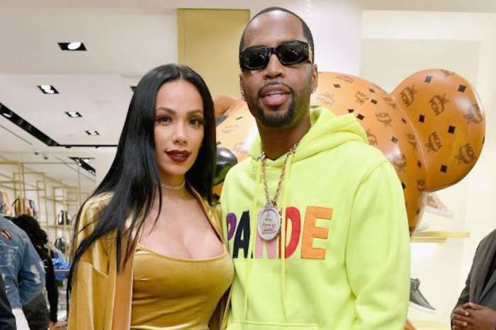 Safaree Poses With Erica Mena And Fans Comment On Her Boots
