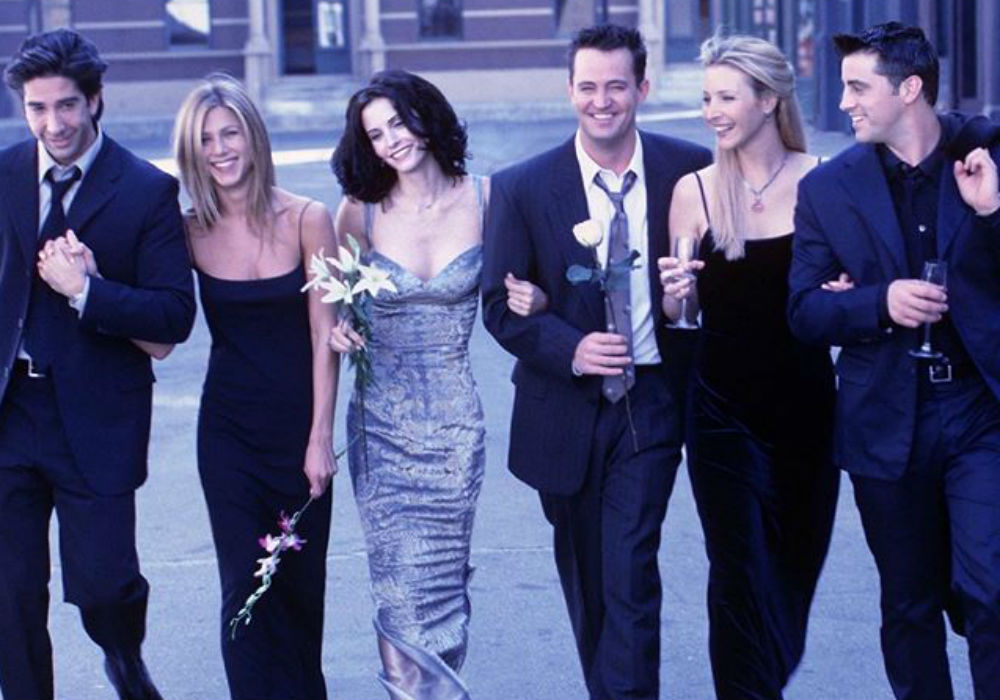 Friends Cast Has Mini-Reunion 25 Years After The Show's Premiere And Fans Are Begging For A Reboot