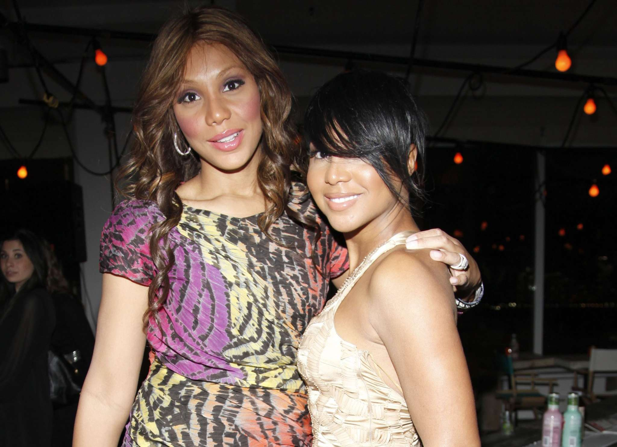 Tamar Braxton Celebrates The Birthday Of Her Sister, Toni Braxton - See Her Video