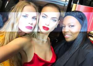 Irina Shayk Is Radiant In Red At Pat McGrath Sephora Event