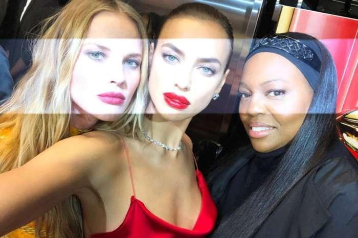 Irina Shayk Is Radiant In Red At Pat McGrath Sephora Event