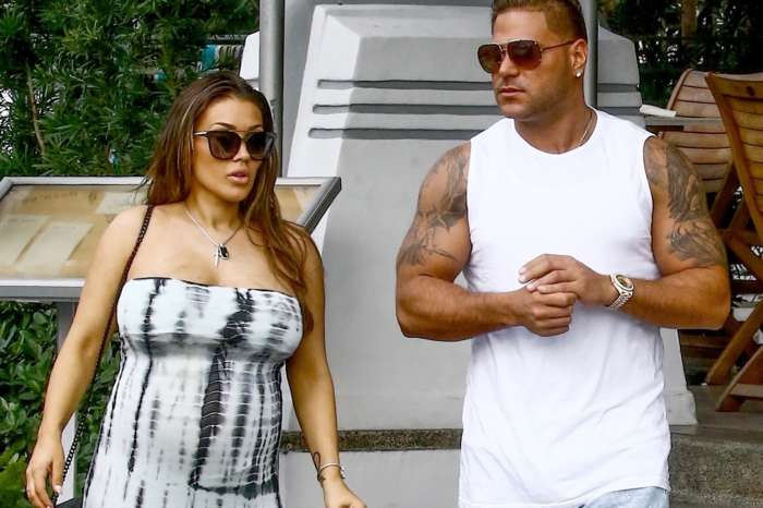 Terrified Jen Harley Desperately Tries To Hide From Jersey Shore Star Ronnie Magro Barefoot In Neighbor's Yard During Alleged Coke Binge (Video)