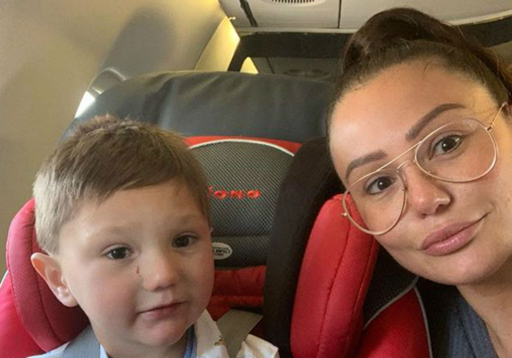 """Jenni """"JWoww"""" Farley Says She's The 'Proudest Mama' After Revealing Her Autistic Son's Amazing Progress"""