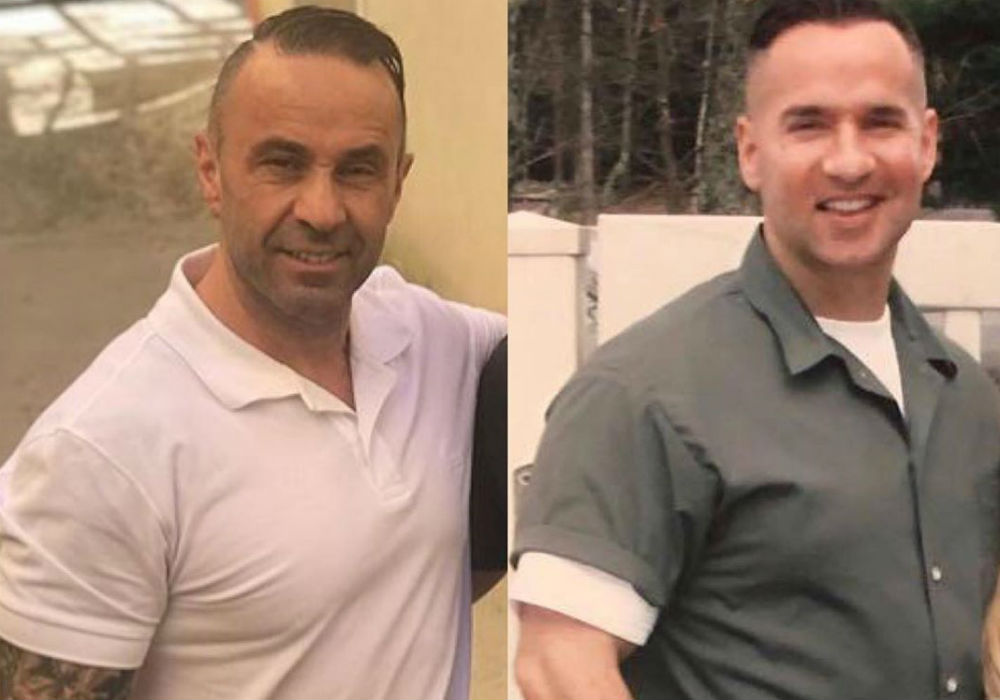 Joe Giudice And Mike Sorrentino Are Twinning With Their Prison Weight Loss And Fans Are Here For It Joe Giudice And Mike Sorrentino Are Twinning With Their Prison Weight Loss And Fans Are Here For It