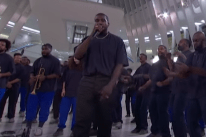 Kanye West Performs Closed On Sunday On Jimmy Kimmel Live — Watch Performance