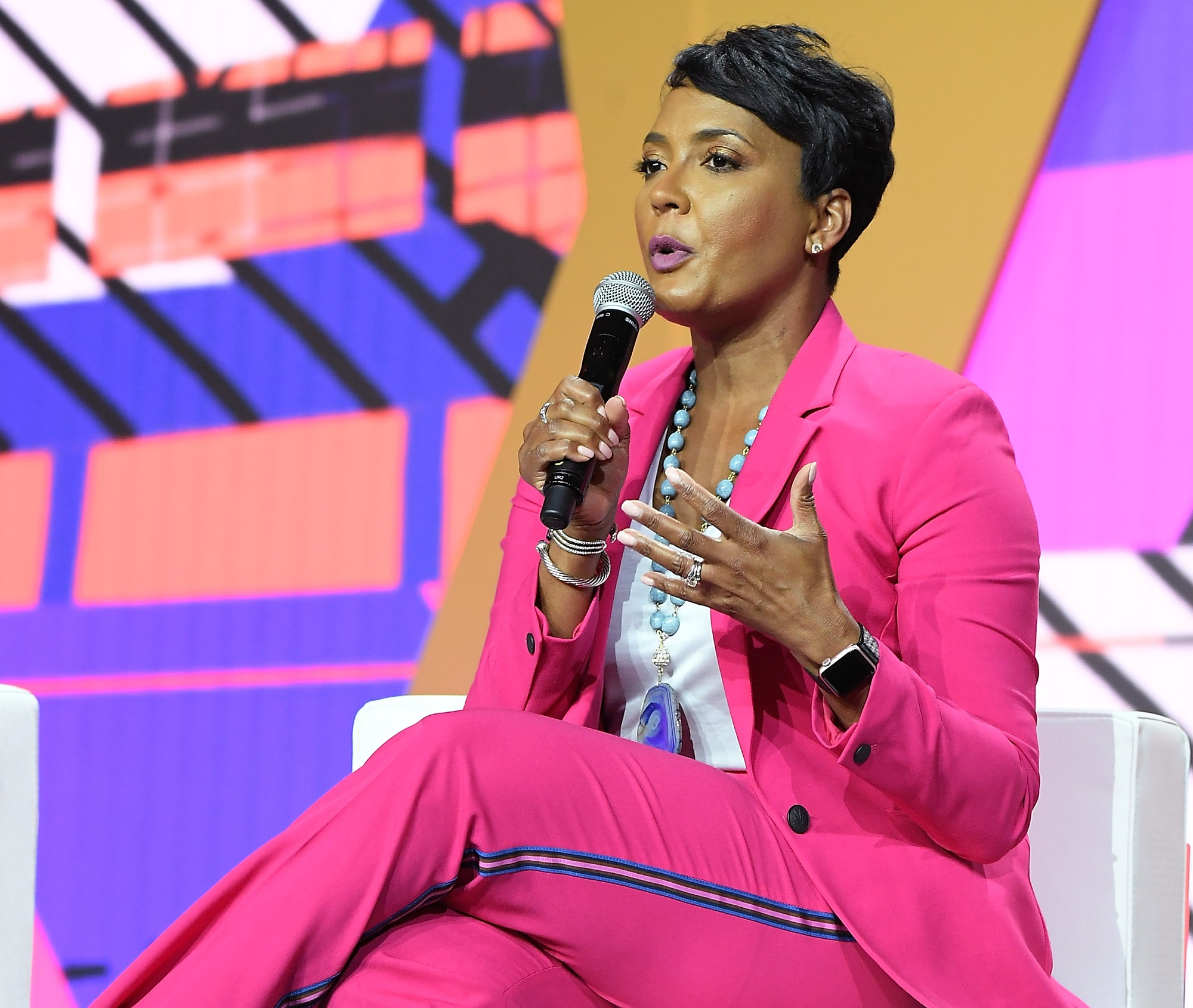 Keisha Lance Bottoms Joe Biden Donald Trump 2020