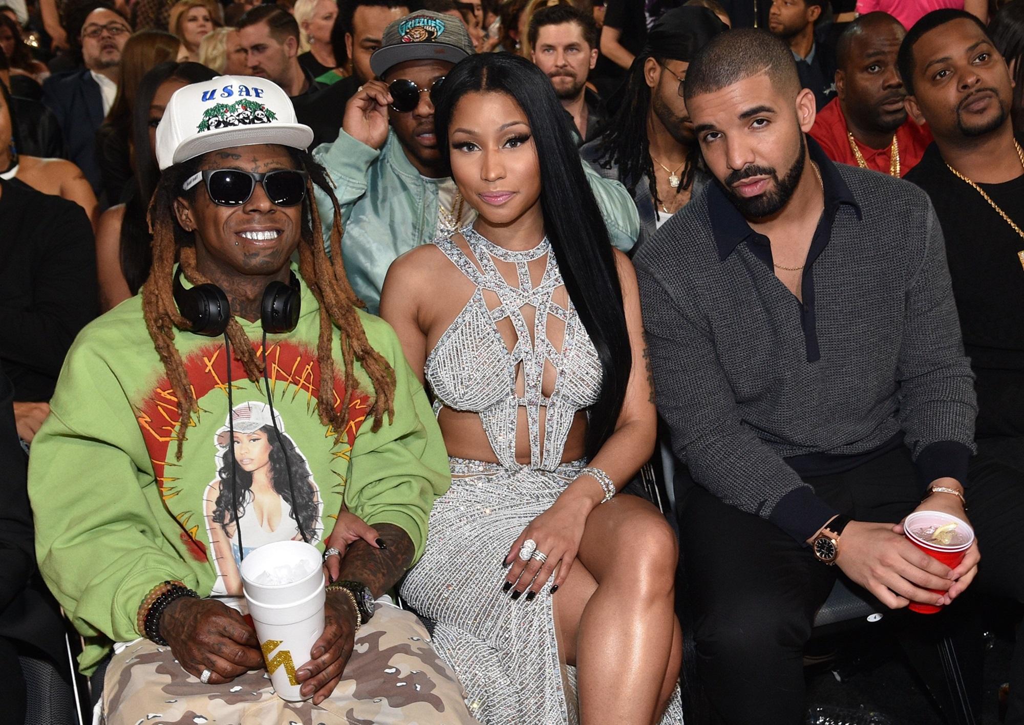 Lil Wayne Nicki Minaj Drake