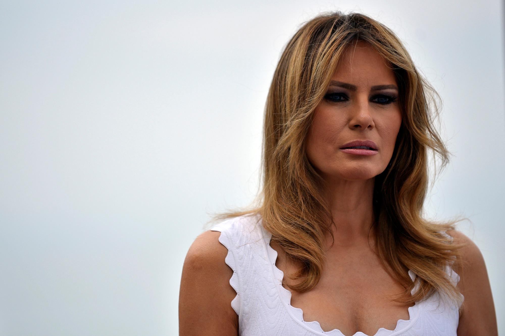 Melania Trump Donald Impeachment White House