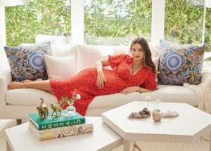 Miranda Kerr Shows Off Her Cozy Los Angeles Home While Making Official Announcement Regarding The Birth Of Her Son Myles With Snapchat Co-Founder Evan Spiegel