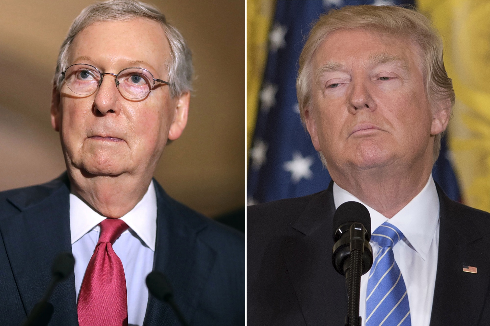 """""""donald-trump-calls-impeachment-inquiry-bullsht-and-a-coup-as-mitch-mcconnell-confirms-senate-would-be-forced-to-pick-up-the-proceedings-if-they-pass-through-the-house"""""""