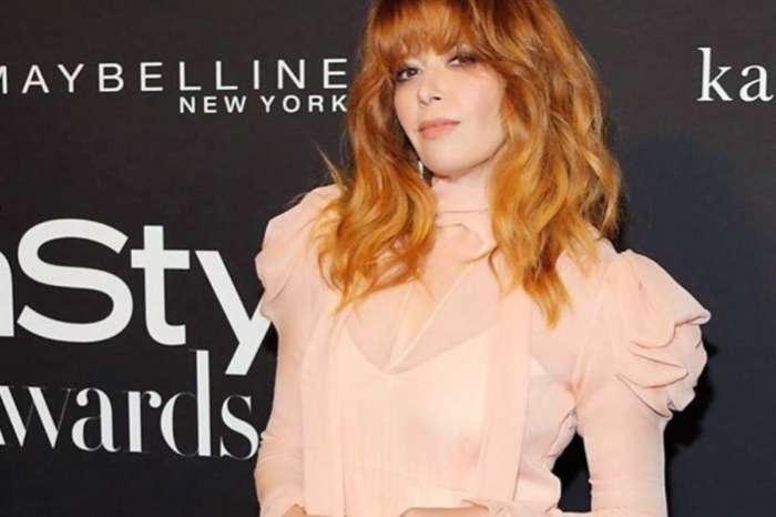 Natasha Lyonne Keeps Drawing Praise For That Peach Ruffled Rodarte Dress