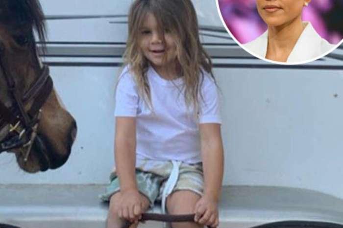 KUWK: Kourtney Kardashian Claps Back At User Criticizing Her For Not Cutting Son Reign's Long Locks!