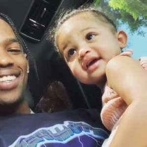KUWK: Kylie Jenner's Daughter Stormi Cutely Dances While Watching Performance Footage Of Her Dad Travis Scott At Rolling Loud!