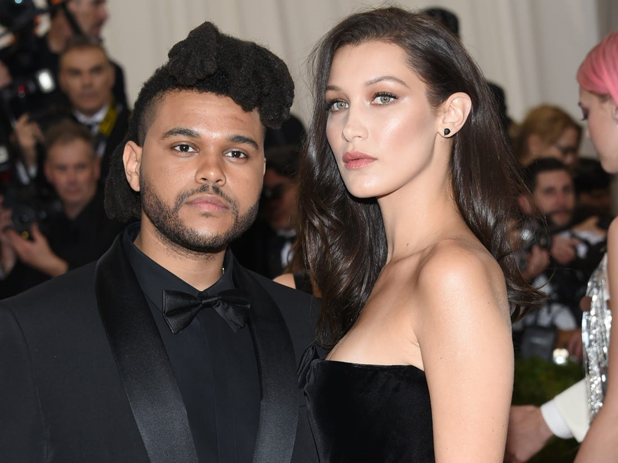 The Weeknd, Ex-Girlfriend Bella Hadid Spotted Kissing at