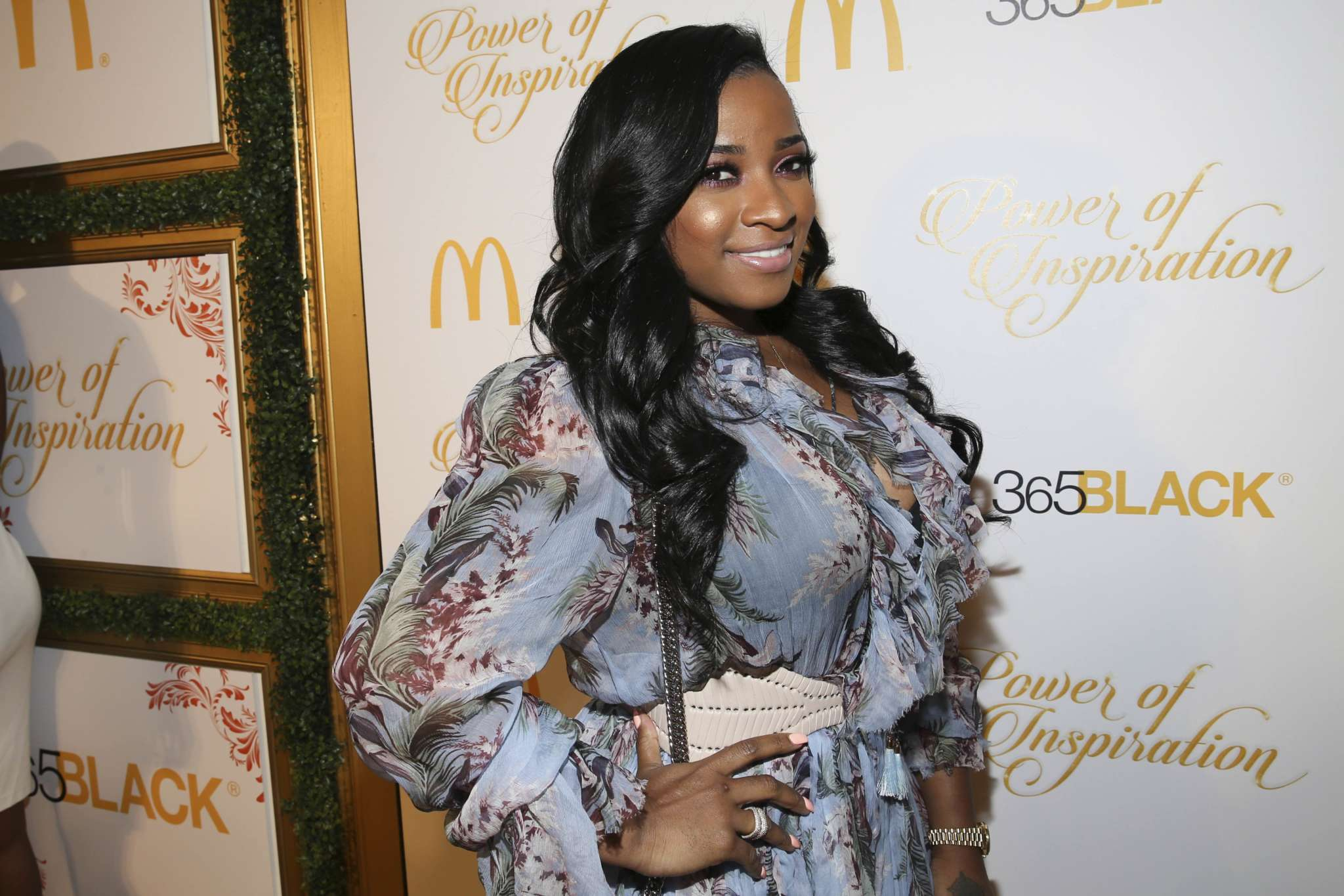 Toya Wright Has The Perfect Weapon To Rule The World - See Her Post