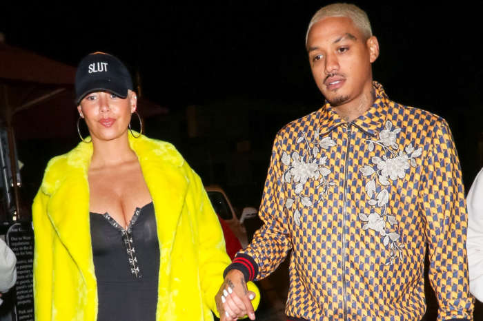 Amber Rose's Fans Cannot Get Over The Name That She And Her BF Chose For Their Baby Boy