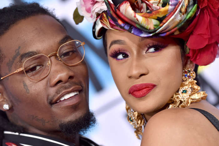 Offset Surprises A Speechless Cardi B With The Biggest Diamond You've Ever Seen In Romantic Video On Her Birthday