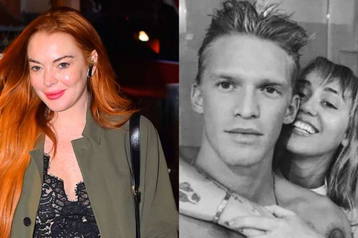 Lindsay Lohan Gushes Over Cody Simpson And Miley Cyrus After Previously Slamming Their Relationship!