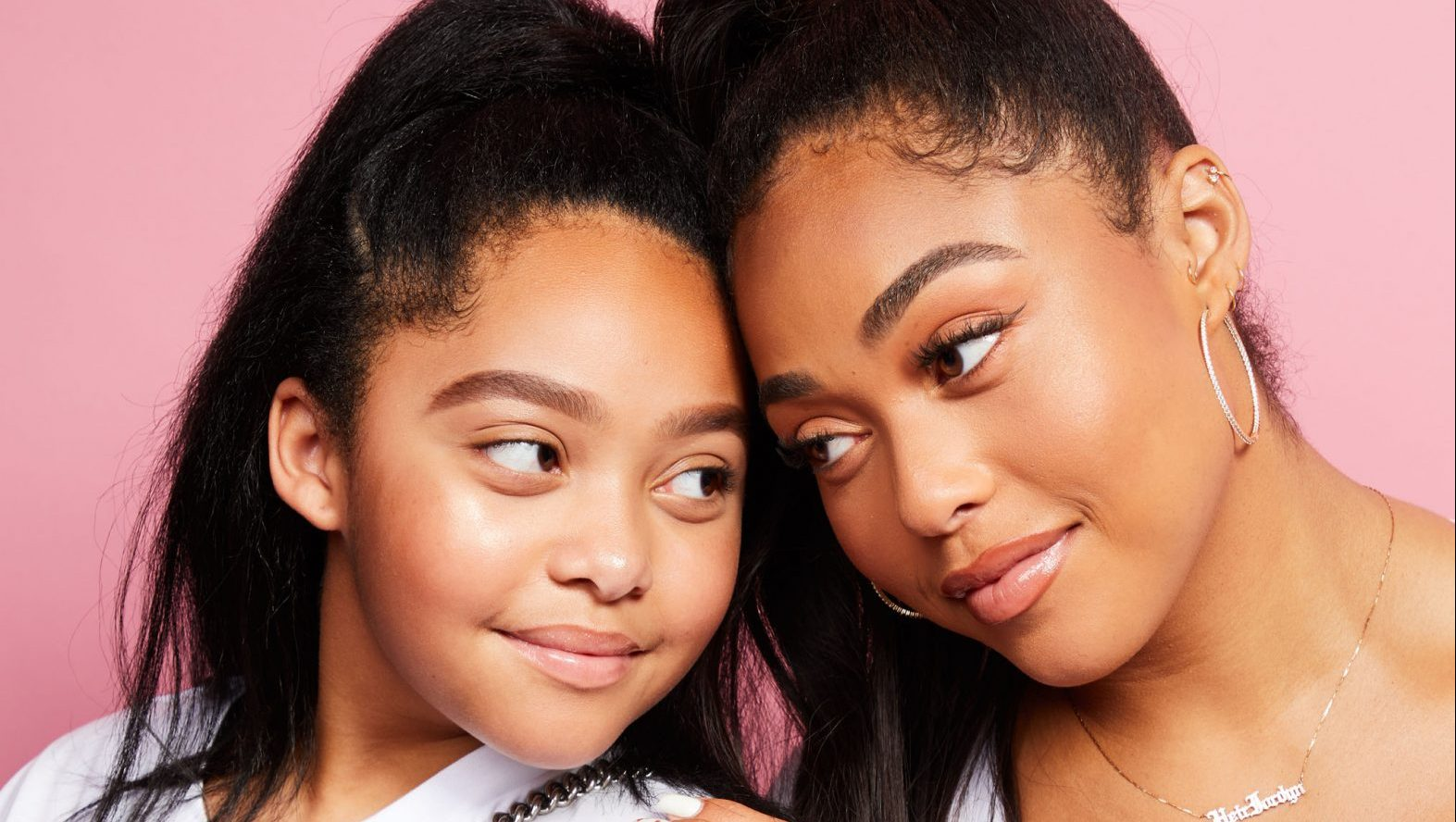 Jordyn Woods Has A Q&A With Her Sister, Jodie - See The Video