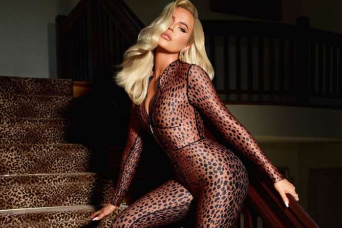 Khloe Kardashian Gets Wild In New Leopard-Print Jumpsuit