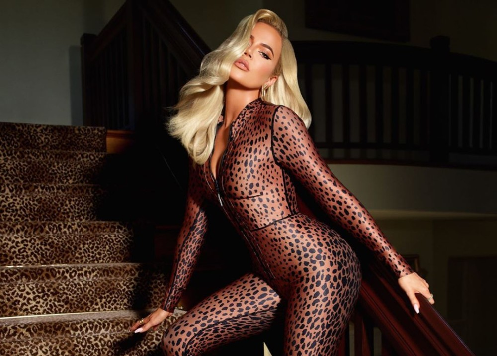 """khloe-kardashian-gets-wild-in-new-leopard-print-jumpsuit"""