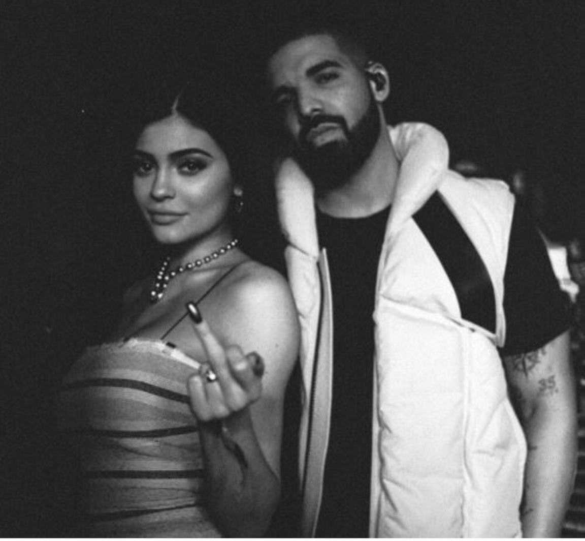 Kylie Jenner and Drake flirt at his birthday