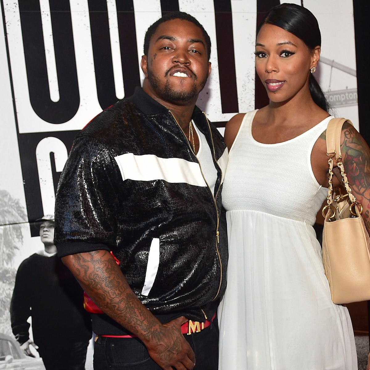 Lil Scrappy And Bambi Benson Visit Rasheeda Frost's Bistro
