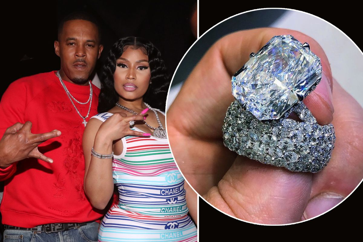 """nicki-minaj-and-kenneth-pettys-fans-defend-the-couple-from-haters-claiming-that-she-bought-the-wedding-rings"""