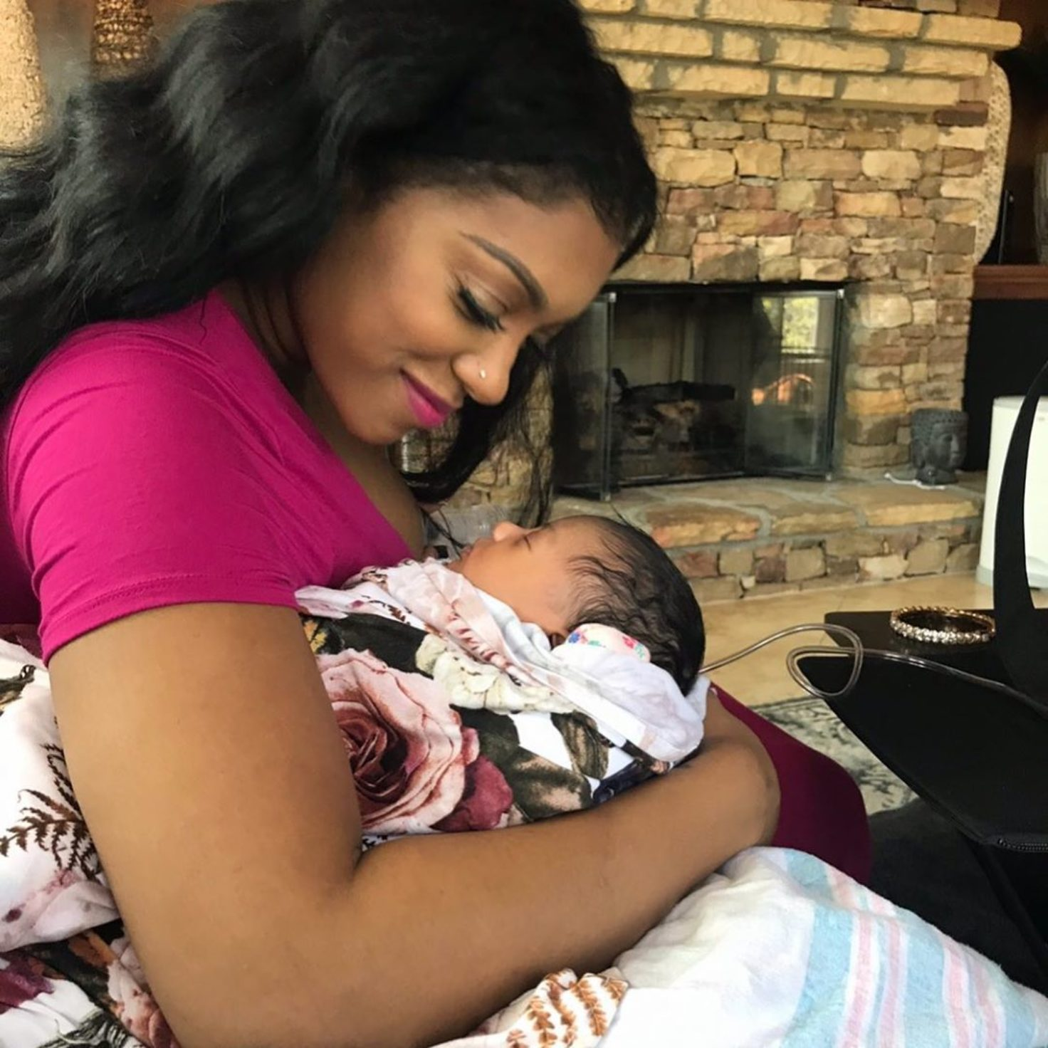 Porsha Williams' Latest Photo Featuring Baby Pilar Jhena Has Fans In Awe