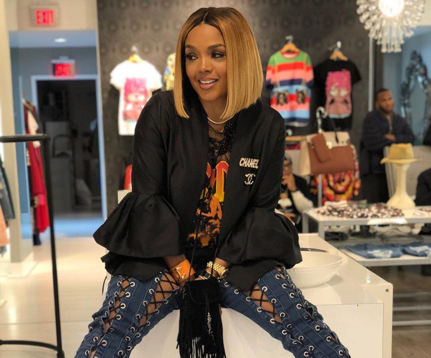 Rasheeda Frost Tells Fans That Deep Inside She's A Gangster Rapper