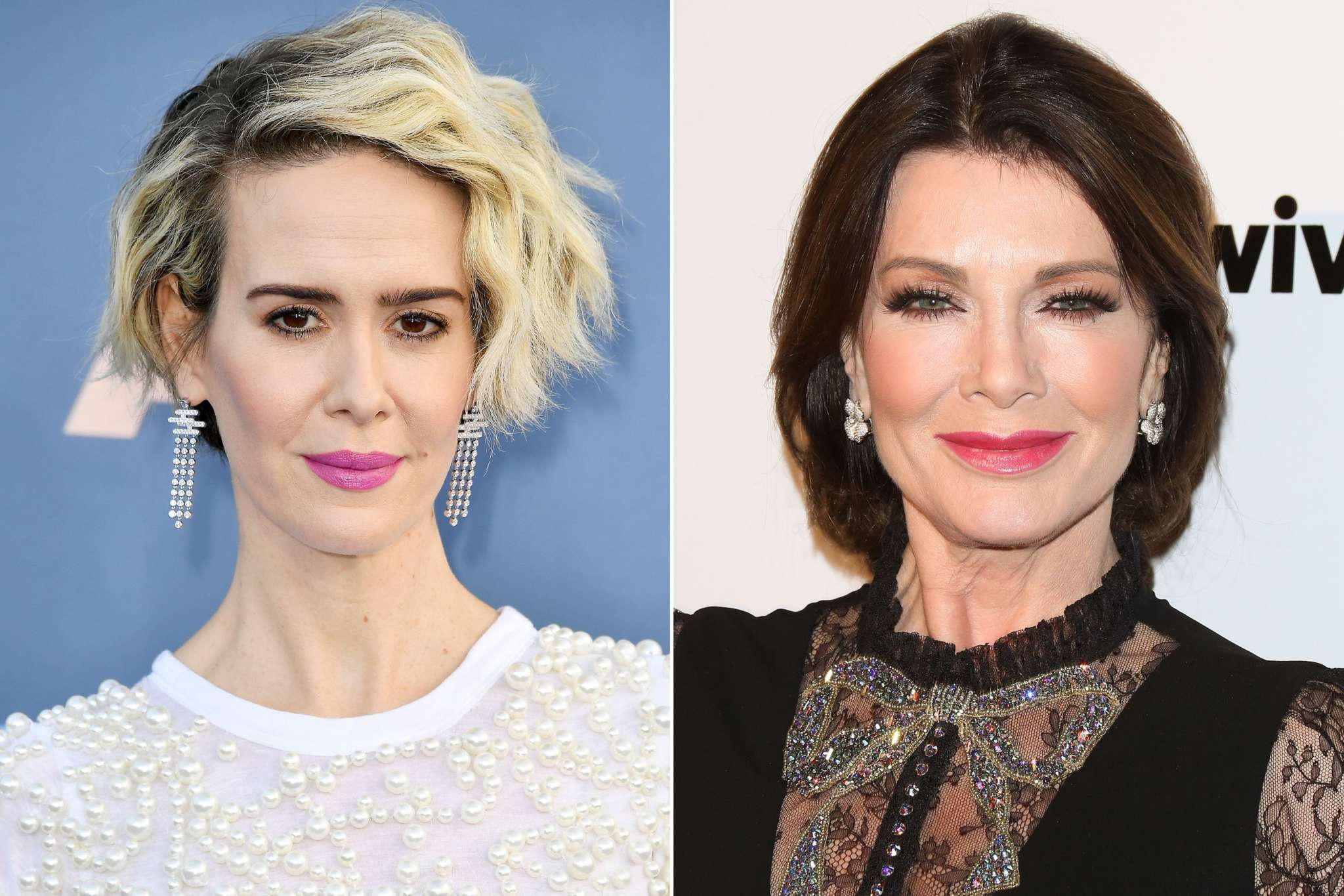"""lisa-vanderpump-poses-with-sarah-paulson-in-newly-surfaced-pic-after-she-claimed-they-never-met-fans-react"""