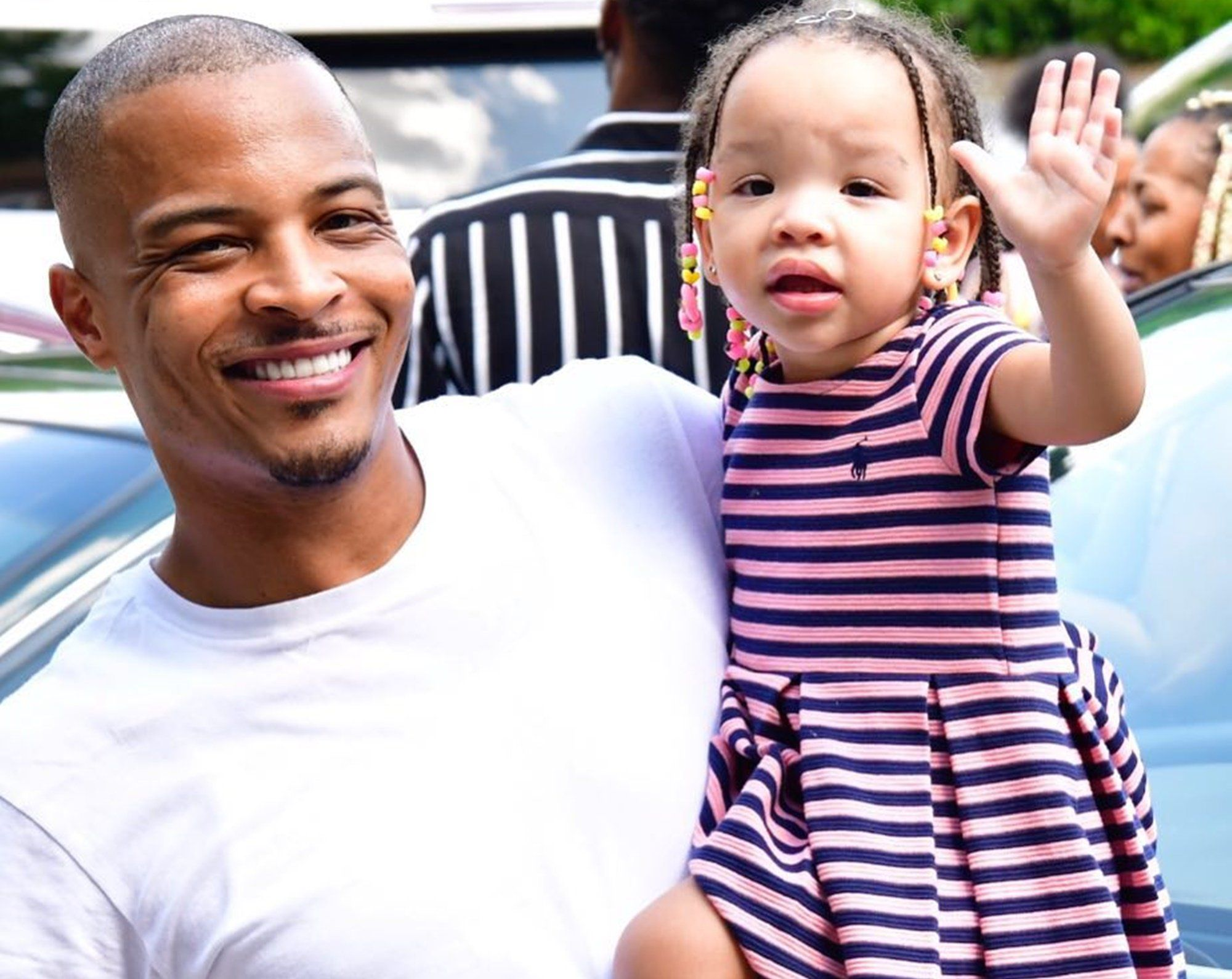 T.I.'s Daughter, Heiress Harris Has A Message From Her Daddy's Part - See The Cute Video