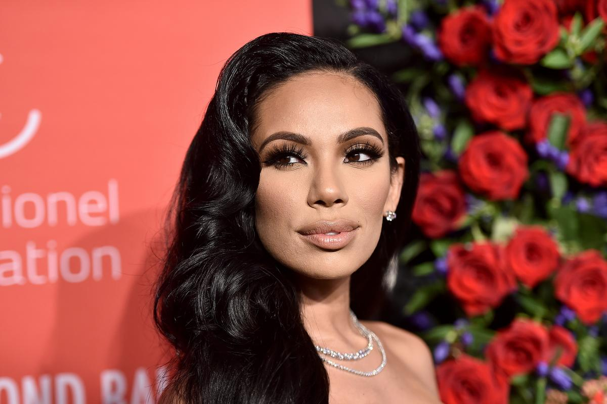 Erica Mena Is Spreading Matrix Vibes While Flaunting Her Baby Bump In Leather
