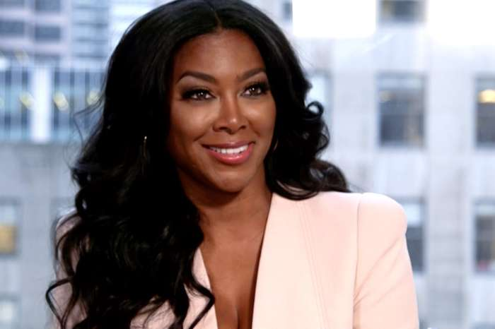 """Kenya Moore Shares Pics Of Her Jaw-Dropping 24"""" Of Waist Length Healthy Thick Hair"""