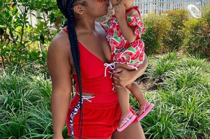 Toya Wright's Fans' Day Just Got Better After Seeing This Footage Of Baby Reign Rushing