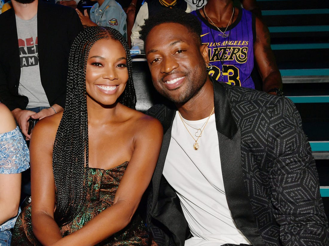 Dwayne Wade Shows Love To Gabrielle Union - She Was Not Asked To Return To 'America's Got Talent'