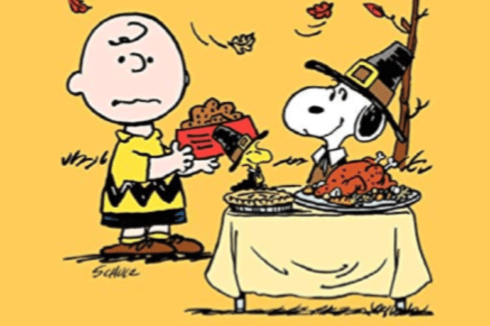 ABC Brings A Charlie Brown Thanksgiving And Christmas To Viewers For The Holidays