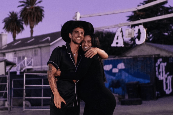 Cassie Ventura's Husband, Alex Fine, Goes The Extra Mile In Sweet Video By Pretending To Be Pregnant With Prosthetic Baby Bump Over A Bet