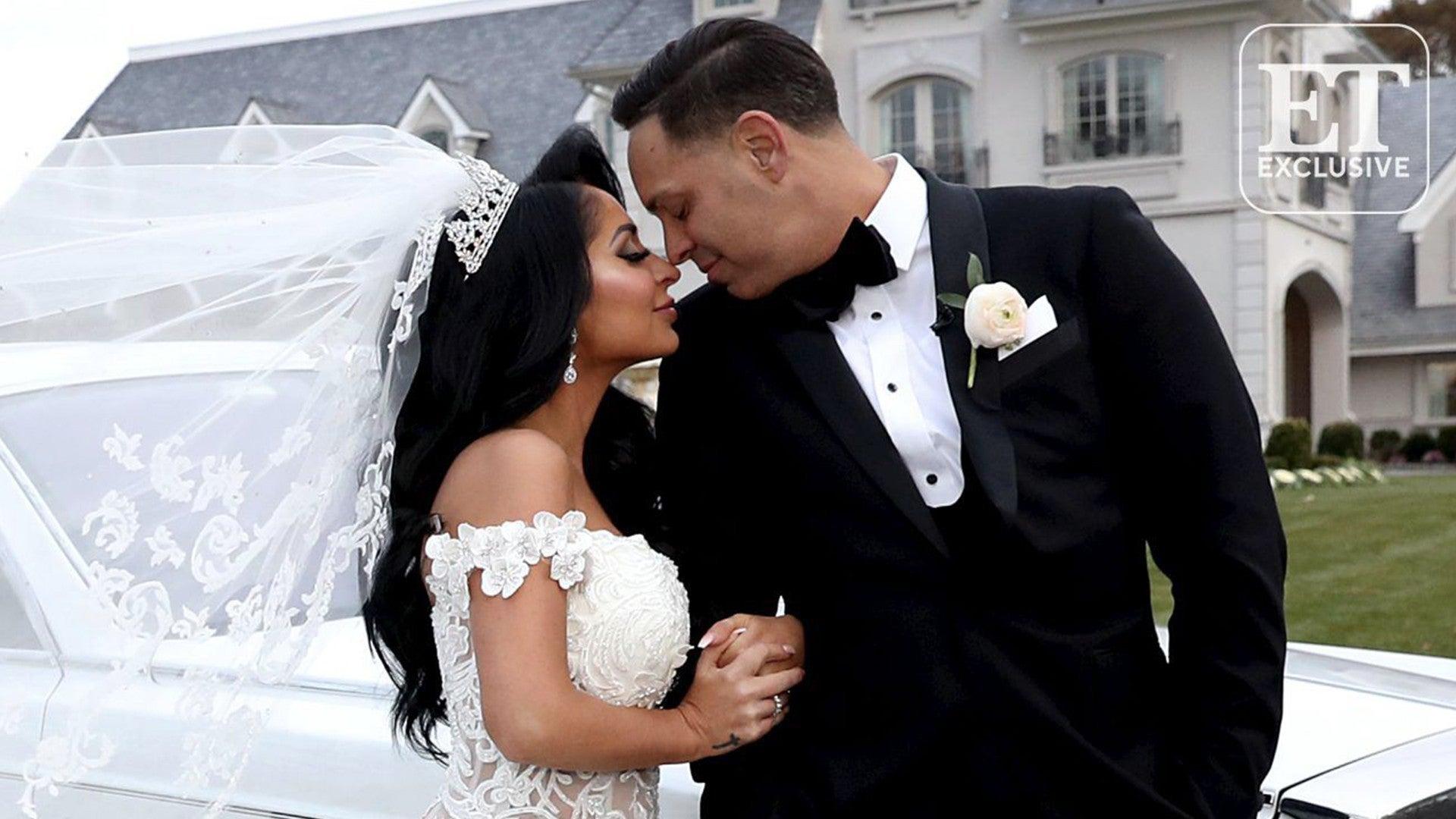 Angelina and Chris Wedding