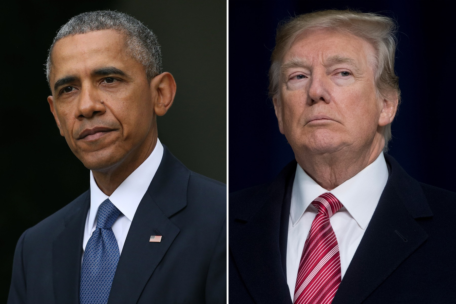 Barack Obama Donald Trump Stephanie Grisham