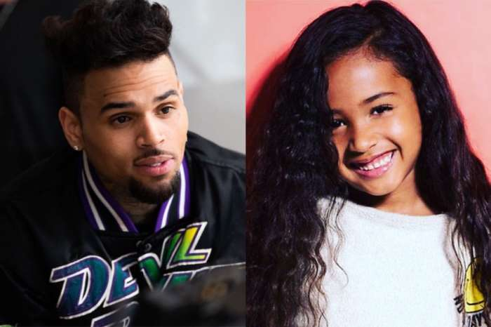 Chris Brown's Daughter Royalty Poses Like A Pro In New Pic After He Welcomes A New Baby!