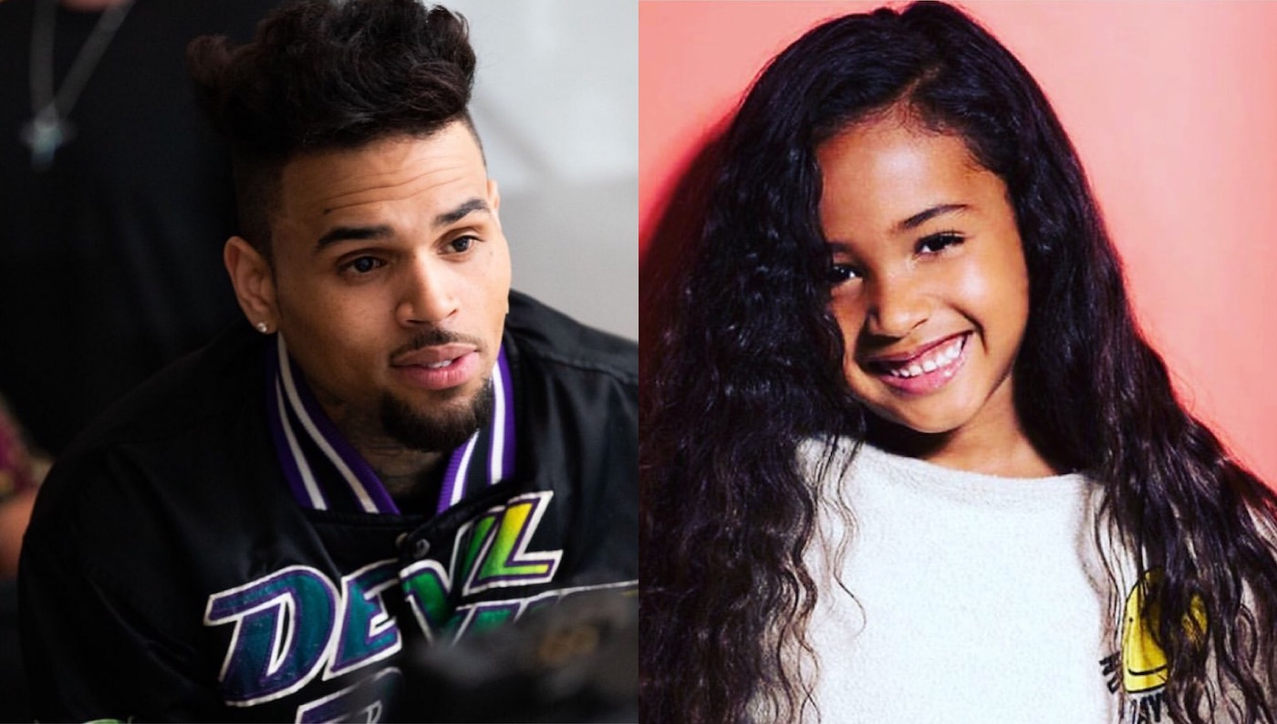 Chris Brown's Daughter Royalty Poses Like A Pro In New Pic