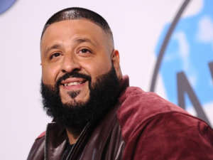 DJ Khaled Holds Up Miami Traffic In His Golf Cart