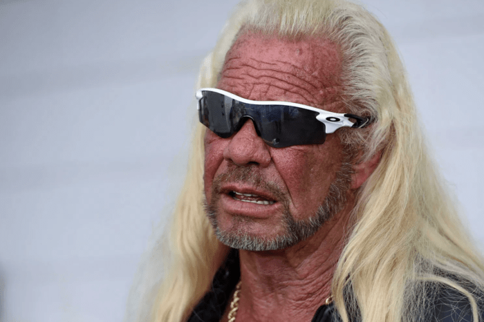 Dog The Bounty Hunter Proves He's 'Alive' By Holding Up Newspaper And Sign After Fans Express Concerns Over His Health