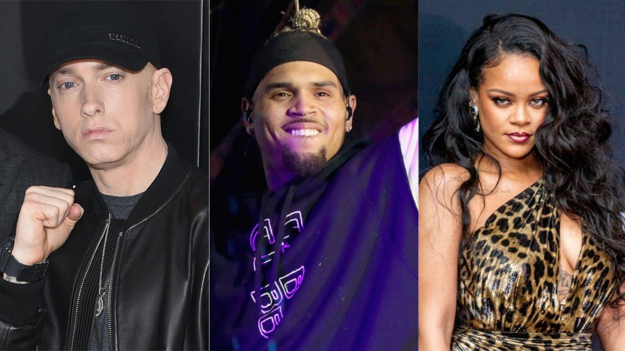 Eminem Chris Brown Rihanna Song