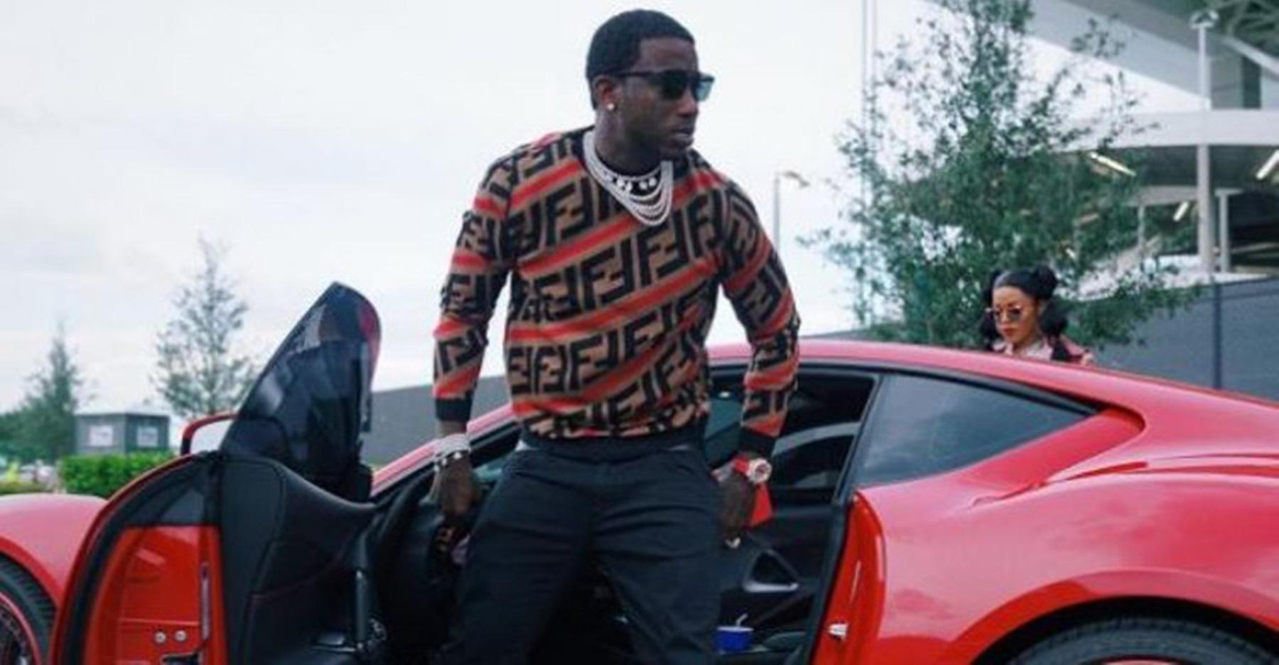 Gucci Mane Keyshia Ka'Oir Ferrari Towed
