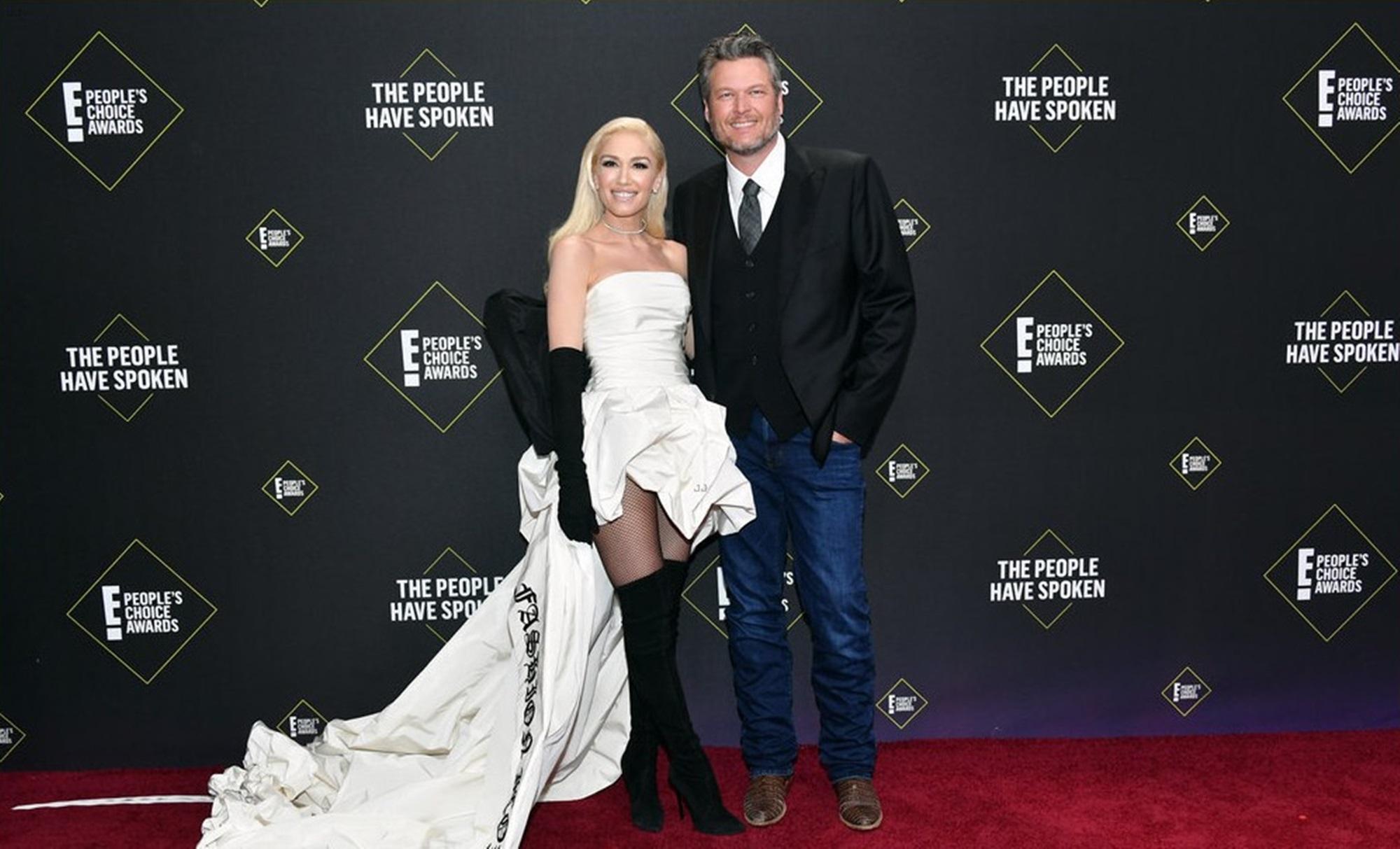 Gwen Stefani Blake Shelton Engagement